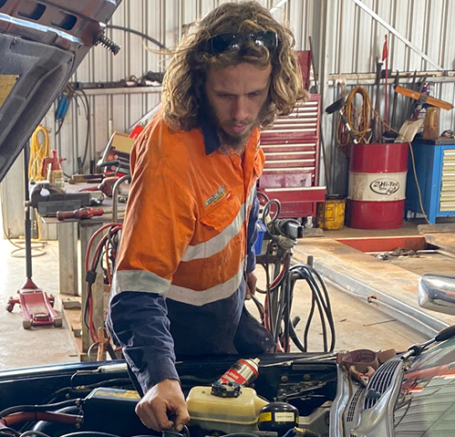 Jack West Apprentice Mechanic