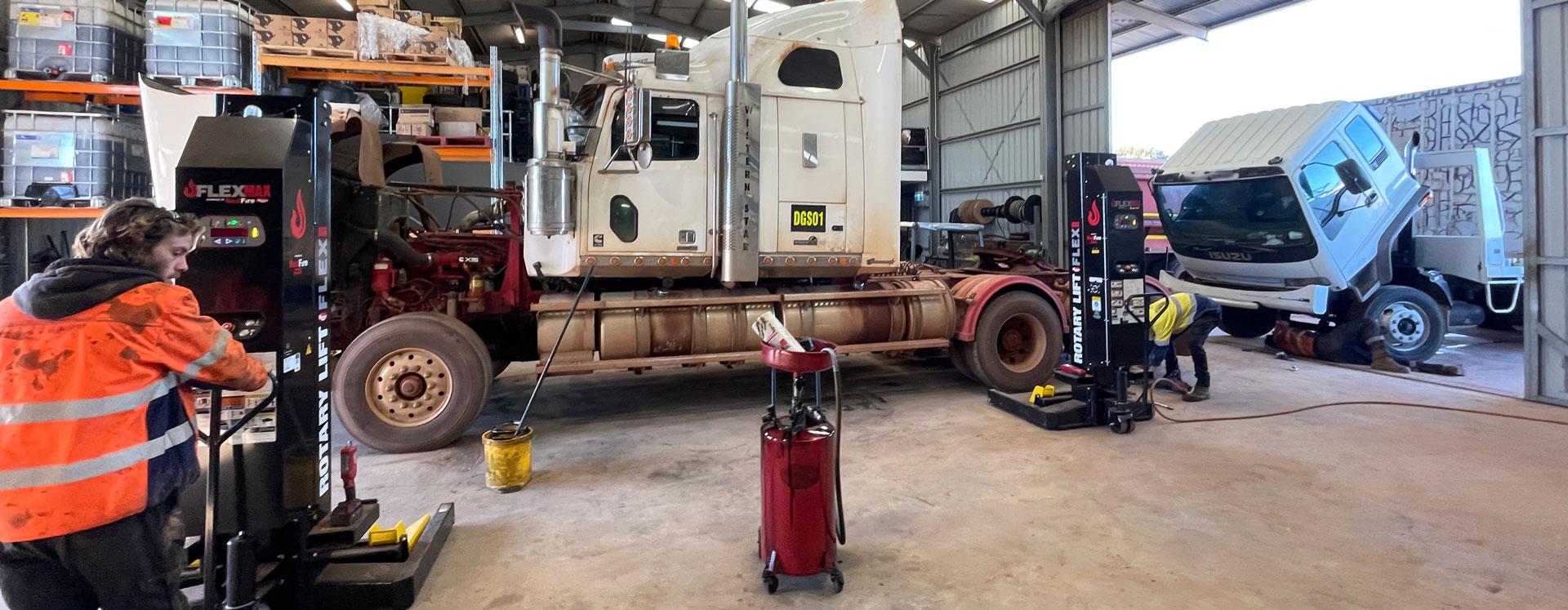 Heavy Duty Diesel Mechanic